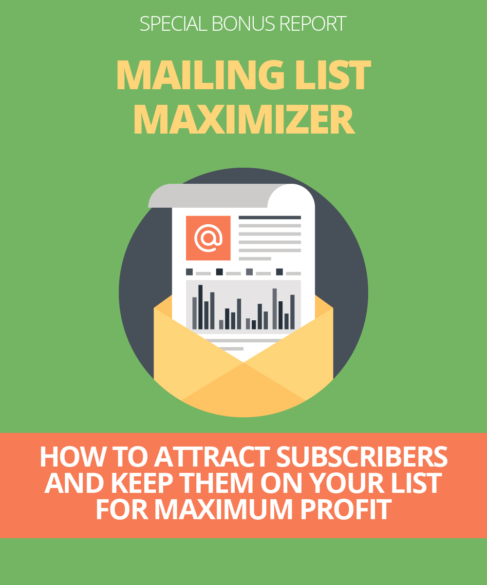 How to attract subscribers and them on your list for maximum profit