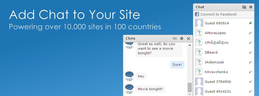 Add Chat to Your Site