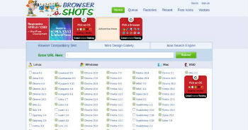 Webmaster Tool No.6-Browser Shots