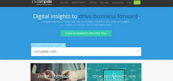 Webmaster Tool No.4- Compete