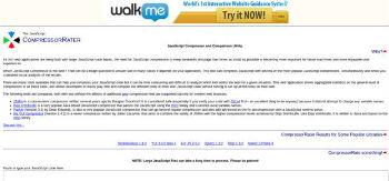 Webmaster Tool No.3- Compressor Rater