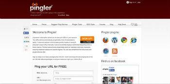 Webmaster Tool No.7- Pingler