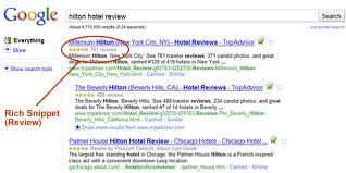 Google's Rich Snippets