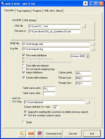 XML-2-MDB